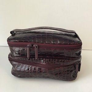 BARE ESCENTUALS: Cosmetic travel bag train case